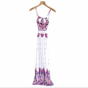 Rubber Ducky Productions, INC Maxi Tribal Dress S